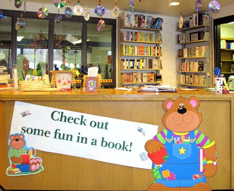 Check out some fun in a book from your library!